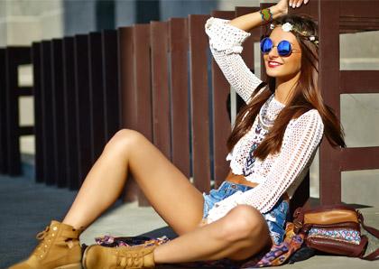 Le look hippie